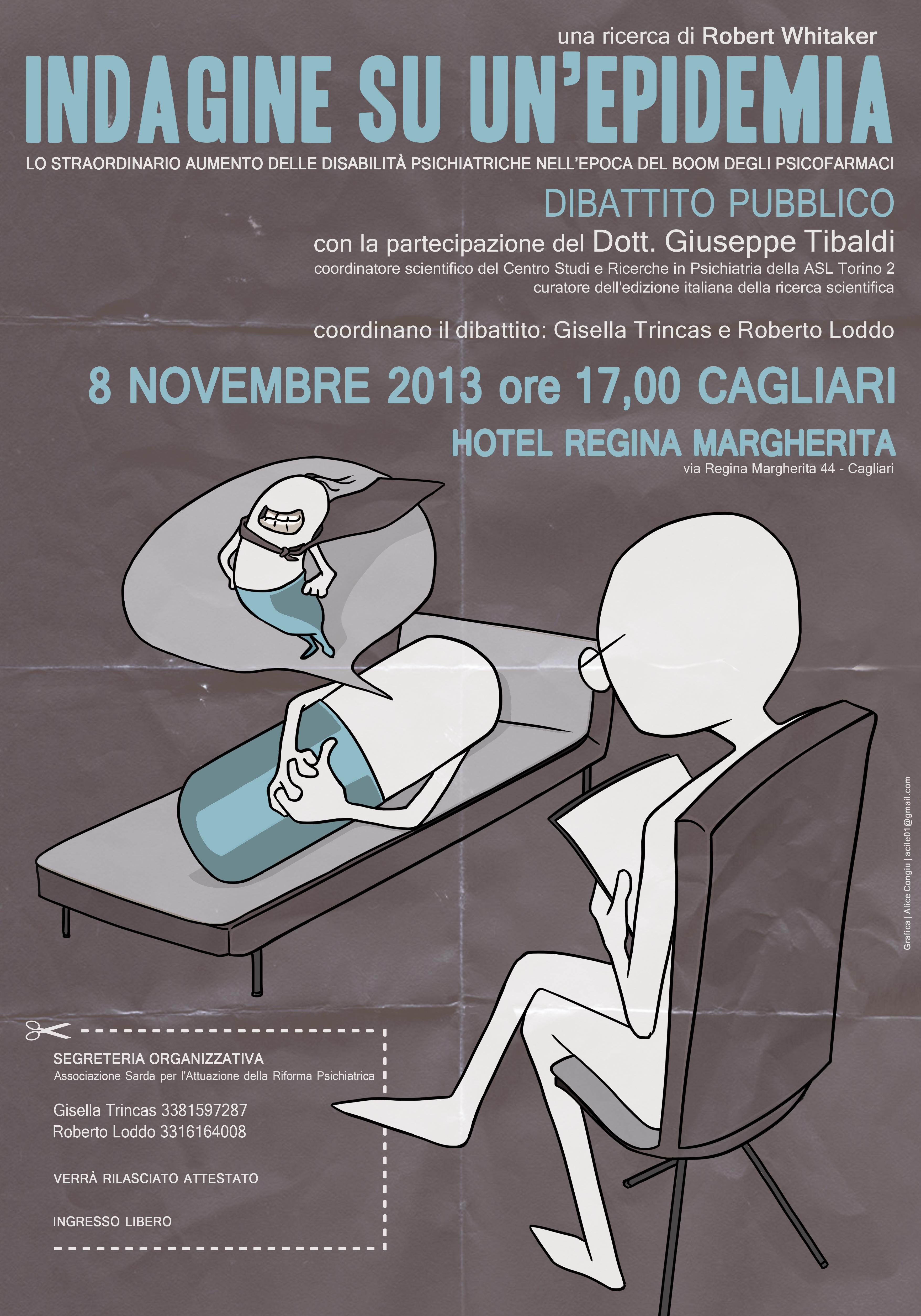 Venerdì 8 novembre a Cagliari: Indagine su un'epidemia