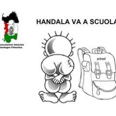 Handala Va A Scuola – sottoscrizione Gaza 2014