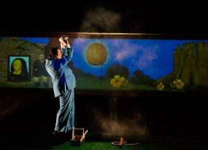 Giallo Mare Minimal Teatro - I tre porcellini