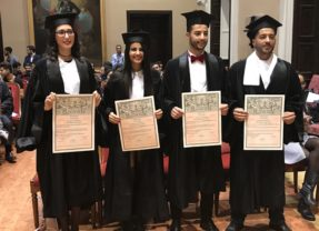 I primi laureati maghrebini dell'Università di Cagliari