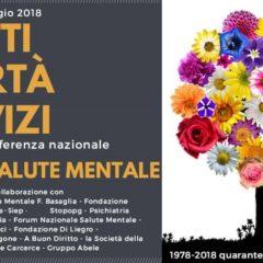 Diritti, Libertà, Servizi per la Salute Mentale. Roma 11 e 12 maggio 2018