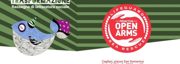 Open Arms a Cagliari con Annalisa Camilli