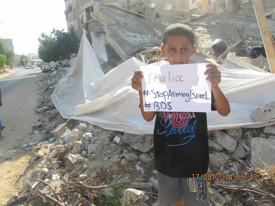 Assemblea contro le esercitazioni israeliane