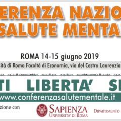 Conferenza nazionale Salute Mentale venerdì 14 e sabato 15 giugno 2019  PROGRAMMA 14-15 GIUGNO 2019
